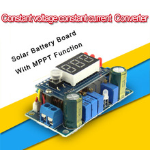 Solar Panels MPPT Controller 5A DC Step-down Module Digital Constant Voltage Constant Current Charging with LED Display #210051