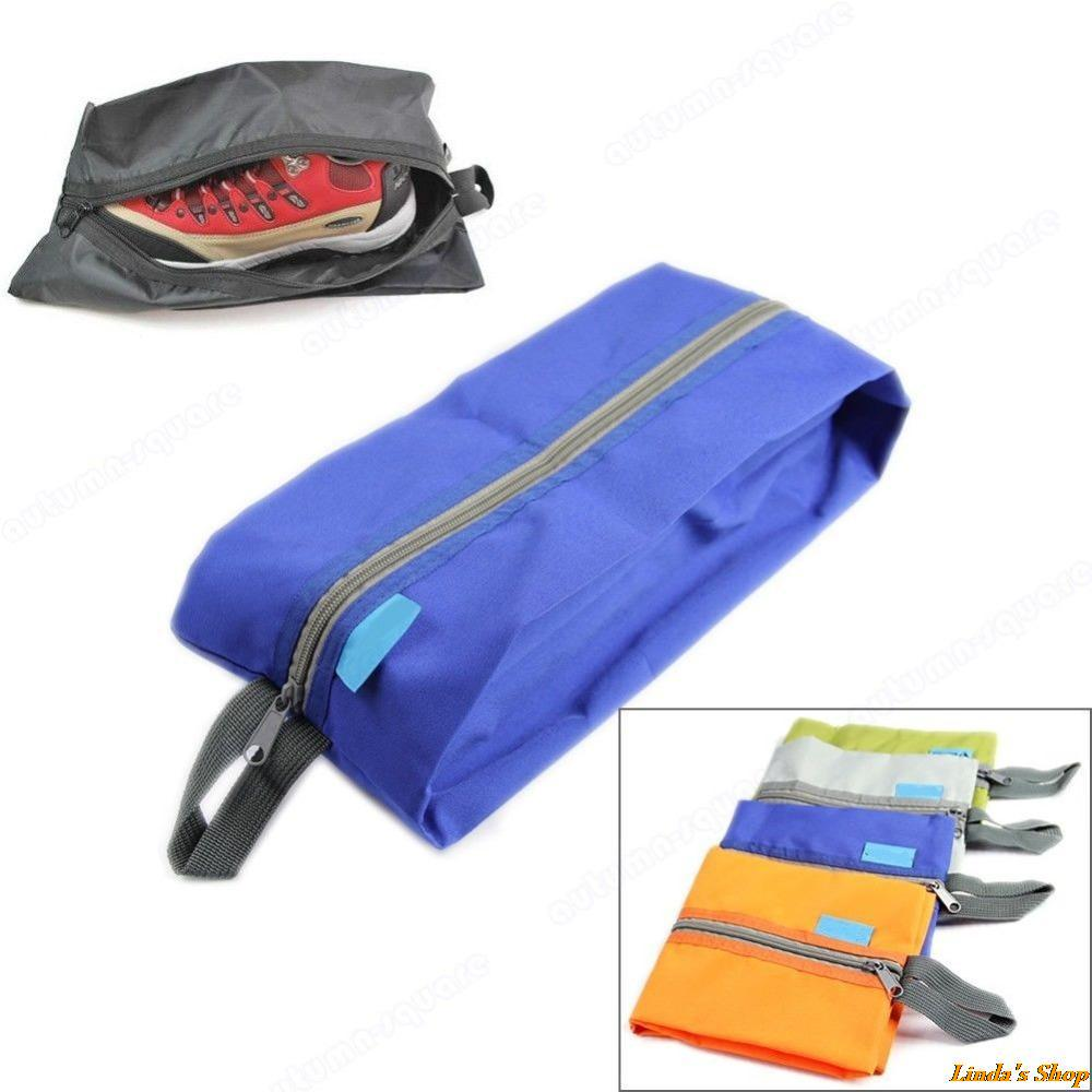 Free Shipping Portable Waterproof Travel Tote Toiletries Laundry Shoe Pouch Storage Bag(China (Mainland))