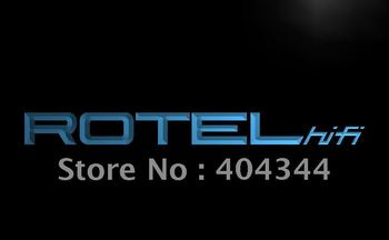 LL110- Rotel Hi Fi System Home Theater LED Neon Light Sign