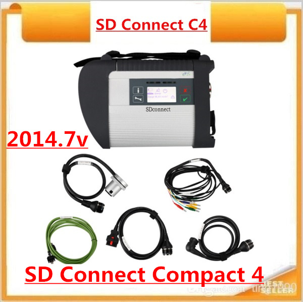 2015 MB Diagnostic tool for Ben-z MB Star New Compact 4 2015.07 Version support over 20 languages SD Connect C4 with WIFI(China (Mainland))