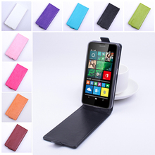 For Mincrosoft Nokia Lumia 640 Case Cover Leather Luxury Vertical PU Leather Open Up And Down New Case For Nokia Lumia 640(China (Mainland))