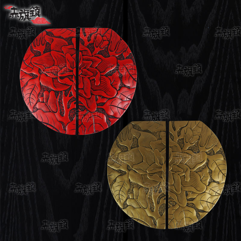 Red Flag Town new Chinese antique furniture, home hardware , hand in shadows on the door of 12 one pair<br><br>Aliexpress