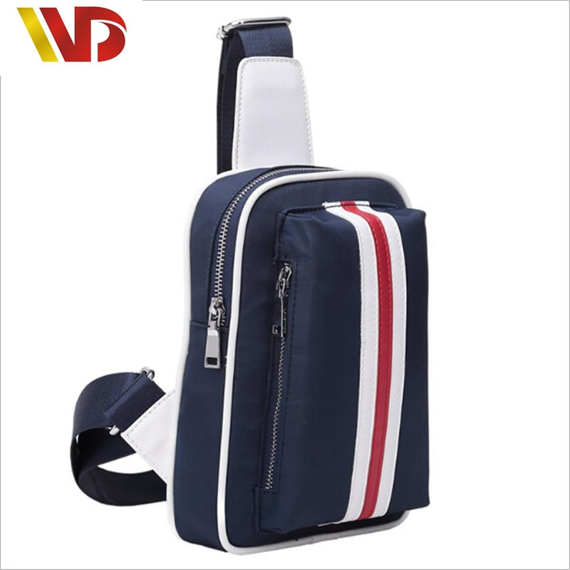 2016 New Leisure Male Chest Pack Pockets Men Man's Shoulder Nylon Cross iPad Bags Wallet card package purse High Edition 100%(China (Mainland))