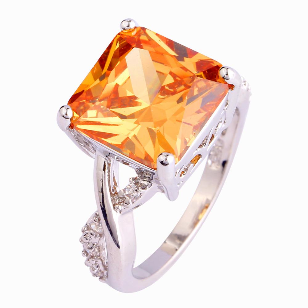 Aliexpress Buy Wholesale Fashion Women Jewelry Rings Princess Cut Morga