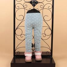 2015 Spring Child Tracksuit Fashiong Cartoon Girls Clothing Set Long Sleeve Top Blouses Legging Outfit Kids