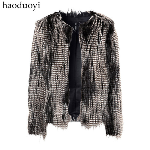 Womens fur jacket with adelomorphous button for freeshippingОдежда и ак�е��уары<br><br><br>Aliexpress