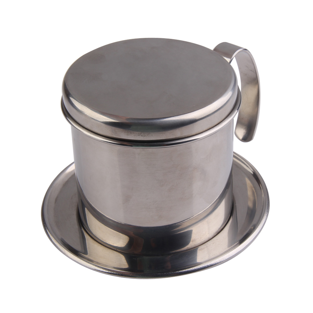Stainless Steel Metal Vietnamese Coffee Drip Cup Filter Maker Strainer FG-in Percolators from ...