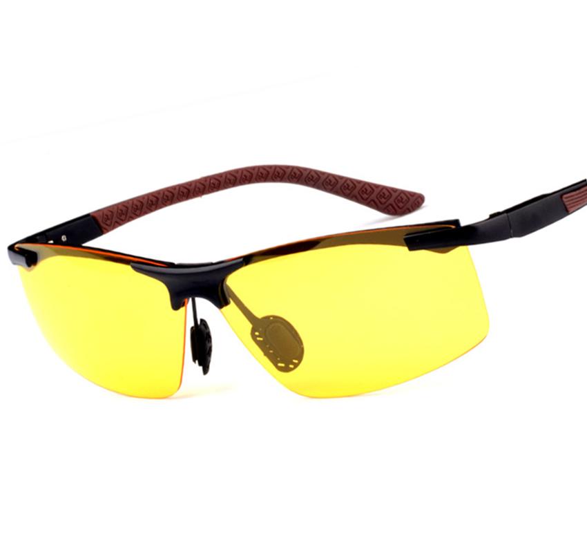 Mens Yellow Frame Sunglasses : Aliexpress.com : Buy New Fashion Night Vision Driving ...