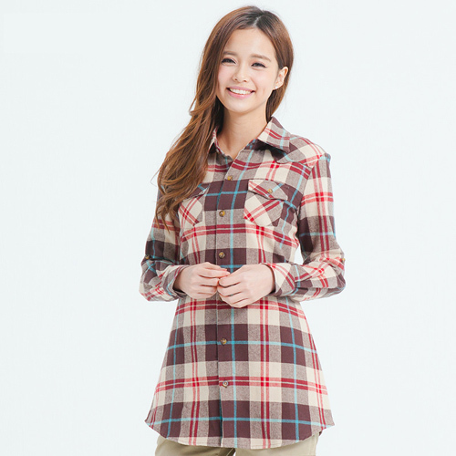 Flannel Shirts For Plus Size Women Plaid Flannel Shirt Women