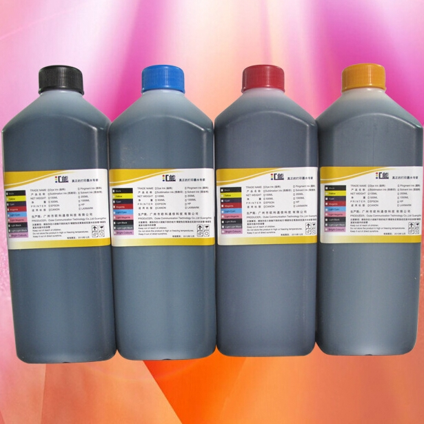 4 Color/lot Pigment Ink for Epson Inkjet Printer Water Transfer Printing Ink Hydrographic Ink(China (Mainland))
