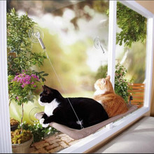 1set/lot Pet Hammock Pet Supplies Window Mount Cat Bed Resting Seat Space Saving Sunny Seat Washable Cover Bed DP673298(China (Mainland))
