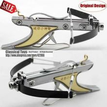 Mini Crossbow With Hard Anodized Aluminum Slingshot Model Archery With Red Laser SIght(China (Mainland))