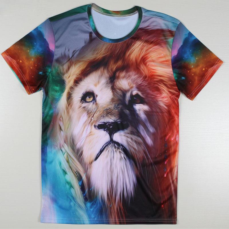 Novelty Design Music Band ACDC Men T-shirts Fashion Lion Printing Tshirts Abstract Casual Harajuku Tees New Top T Shirts Dress(China (Mainland))