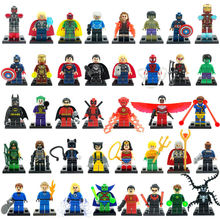 Single Sale Minifigures For Individually Sale Marvel Super Hero Avengers 2 Deadpool Joker Building Blocks Sets Model Bricks Toys(China (Mainland))
