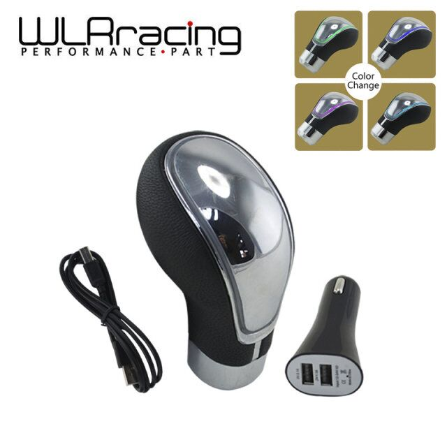 WLRING STORE-Universal Touch Activated color change LED Gear Shift Knob Gear Knob for Manual Car WLR-LDSF01CC<br><br>Aliexpress