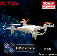 Skytech M62r 2.4G 4CH 6-Axis Rc Helicopter Remote Control Quadcopter Toys Ar. Drone With HD Camera dron Or M62 Without camera