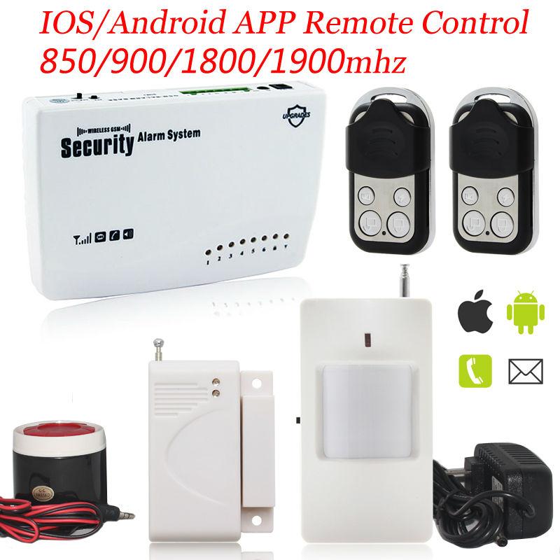 Гаджет  New module G11 433mhz Wireless Metal Remote Control GSM Alarm System Home Security Intelligent Alarm Siren None Безопасность и защита