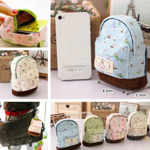 Hot Case Coin Card Purse Wallet Zipper Bag Pouch Flower Canvas Box 1OIH(China (Mainland))