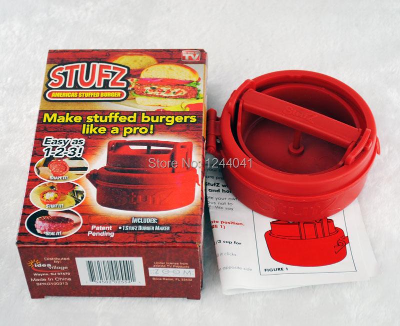 Stufz Stuffed Hamburger Press 1 PC Stufz QY7307 easy life hamburguer stufz k141 110585