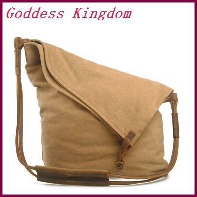 Designer handbags high quality shoulder bags vintage preppy unisex messenger bags casual large capacity canvas bag A8141