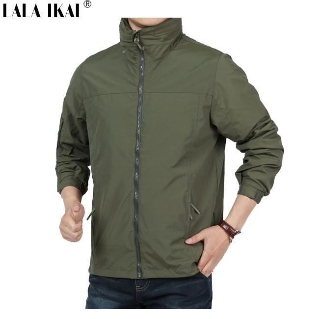 Здесь можно купить  IKAI Tactical Jacket Outdoor Breathable Waterproof Men Hiking Jacket Brand Windstopper Military Hunting Jacket Camping HMA0106-5  Спорт и развлечения