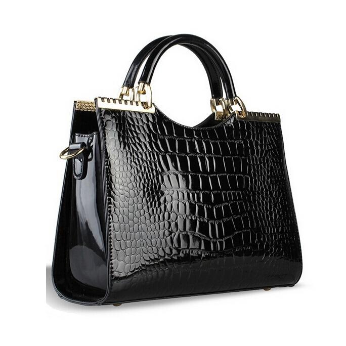 2015 New Genuine genuine leather Handbags Tote Fashion Ladies Shoulder Bags 100% high quality Women Bag bolsa femininas(China (Mainland))