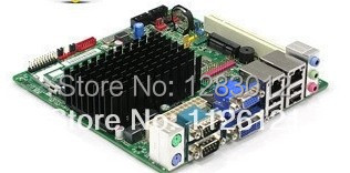 intel mini itx motherboard with cpu onboard computers,motherboard with processor desktop, dual core ddr3 D2500CC(China (Mainland))