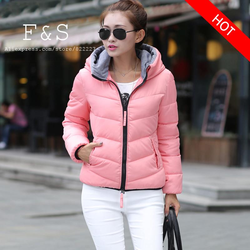 Snow wear wadded jacket female 2015 autumn and winter jacket women slim short cotton-padded jacket outerwear winter coat women(China (Mainland))