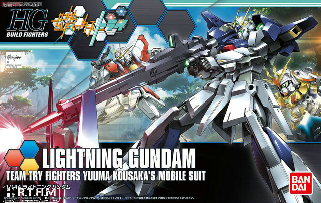 Bandai HGBF 020 1/144 Lightning Gundam build fighter try hobby scale model building toy kids<br><br>Aliexpress