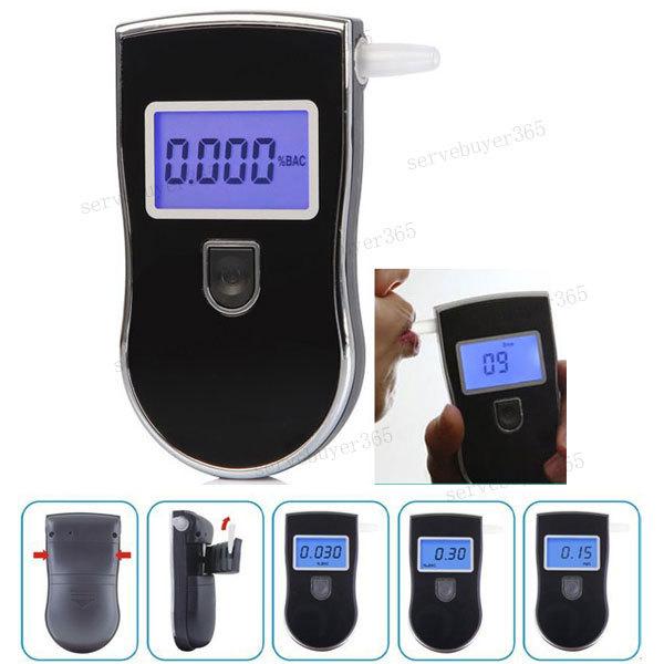 LCD Display Tester Digital Breath Alcohol Tester Breathalyzer Analyzer Detector(China (Mainland))