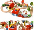 Train Wooden Complete Set Of my cute little cars Toy Engine Early childhood educational toys poni