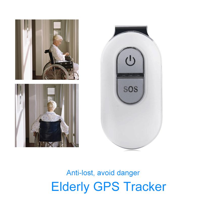 LK106 Mini Personal GPS Tracker For Children Elderly GSM+GPRS+GPS Tracking Device SOS Button Waterproof Free Platform White(China (Mainland))