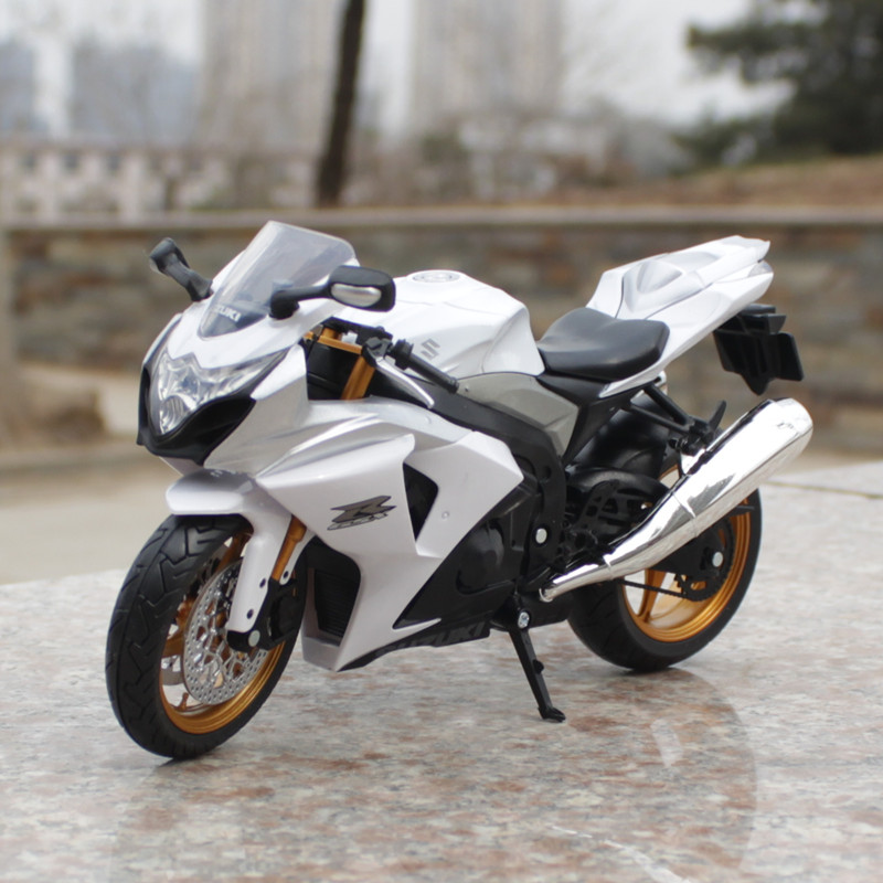 Mini Diecast Metal Plastic Motorcycle Model Toys SUZUKI GSXR1000 Alloy Motorcycle Model Decoration Collection Toys 1:12 Scale(China (Mainland))