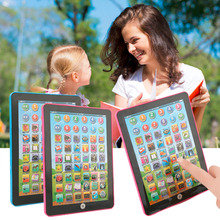 Tablet Pad Computer For Kid Children Learning English Educational Teach Toy(China (Mainland))