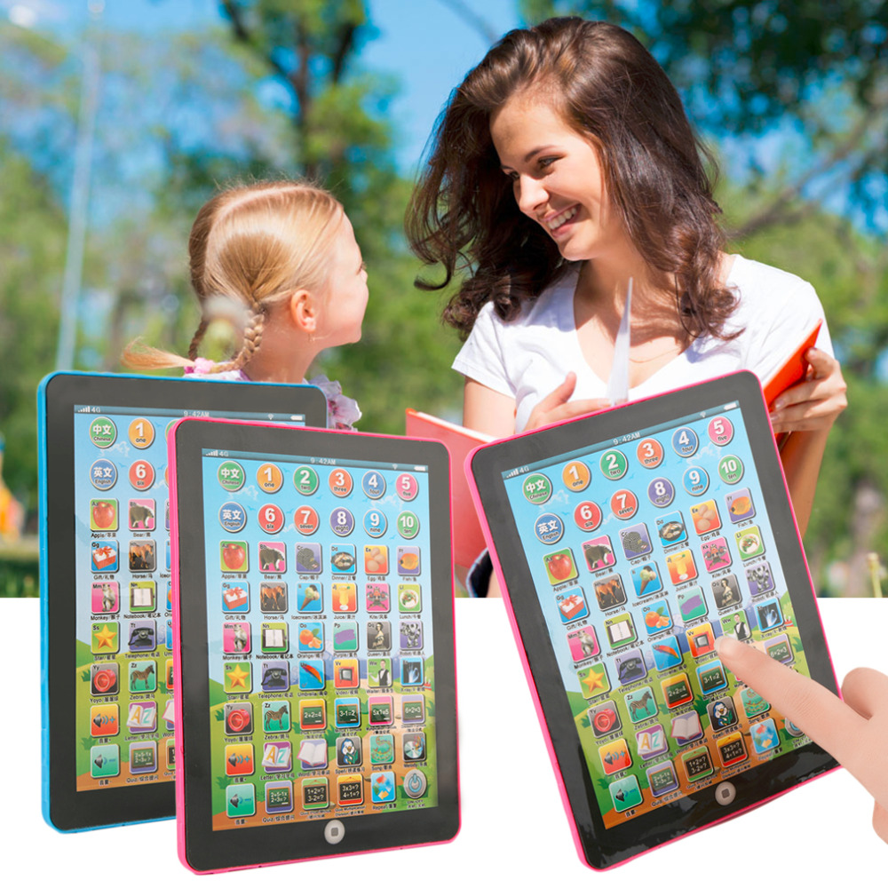 Tablet Pad Computer For Kid Children Learning English Educational Teach Toy Worldwide sale(China (Mainland))