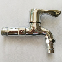 11.2cm High Quality Brass Washing Machine Faucet Wall Mounted Pool Sink Tap Chrome With Finished Bathroom Equipment Home Bibcock(China (Mainland))