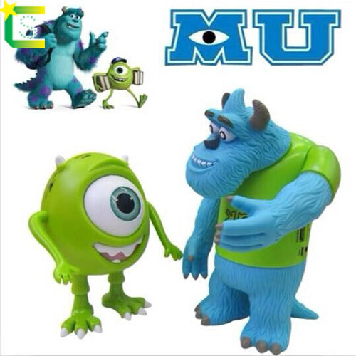Monsters University Mike Wazowski Speaker Cartoon Mini speakers portable speakers for moblie phone support TF card(China (Mainland))