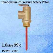 "145PSI 210F TP Valve BSP G3/4"" Temperature and Pressure Relief Valve as TP Safety Valve 10Mpa 99 centigrade(China (Mainland))"
