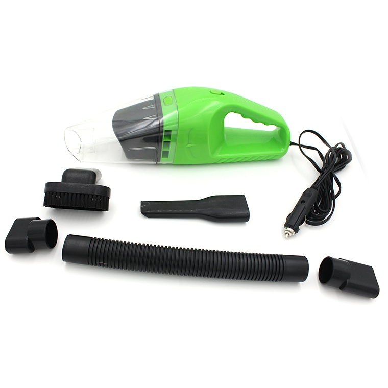Car vacuum cleaner car mini compact high power 120W dual wireless handheld portable home inflator(China (Mainland))