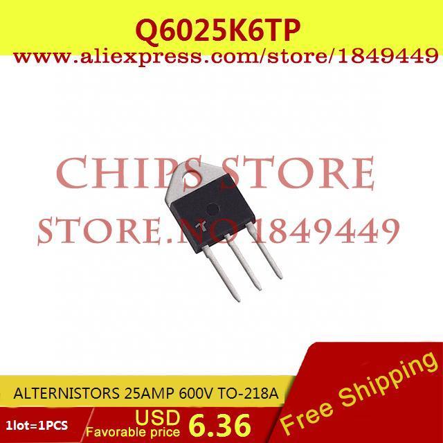 Бесплатная Доставка Diy Интегральных Схем Q6025K6TP ALTERNISTORS 25AMP 600 В TO-218A 6025 Q6025 1 ШТ. ig10n48ad to 218