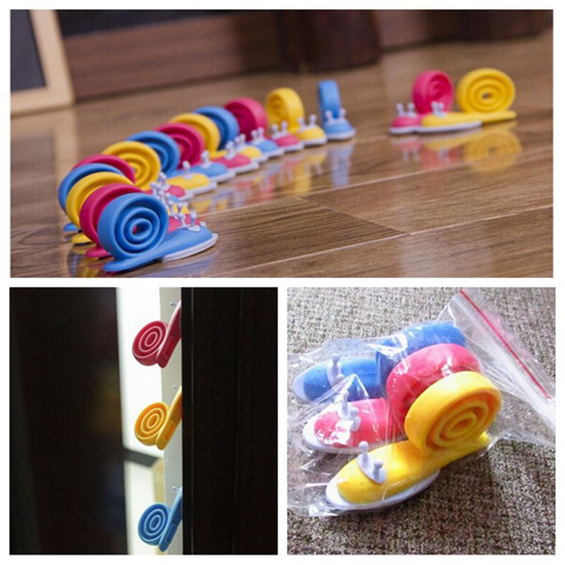 3pcs/lot Cute Snails Door Jammer Finger Corner Guard Baby Safety Door Stopper Protecting Children Safe kids door fangga pad(China (Mainland))