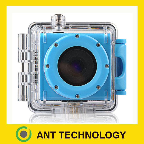 ANT WIFI wireless waterproof Full HD 1080P sports action waterproof video cameras(China (Mainland))