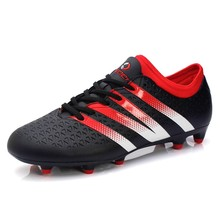 2016 New Arrival Brand Mens Football Boots AG FG Soccer Shoes Outdoor Firm Ground Soccer Cleats Chuteira Futebol Scarpe Calcetto