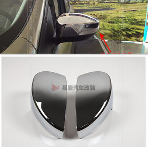 Accessories FIT FOR 2013 2014 FORD ESCAPE KUGA EXTERIOR SIDE MIRROR CHROME COVER REAR VIEW TRIM(China (Mainland))
