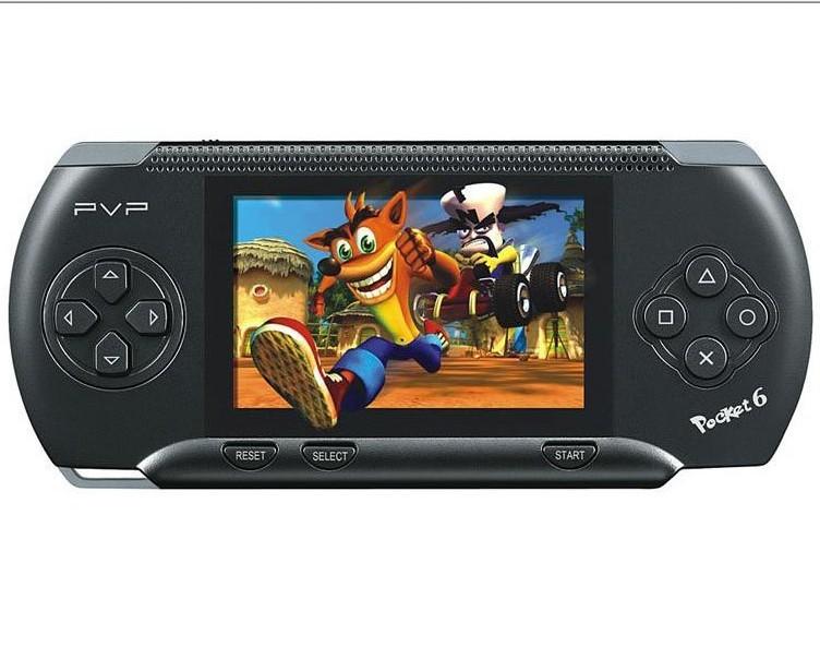 -black 2.7 inch PVP pocket handheld game player/game consoles (8bit) + thousands good games built - Newsun Industry Ltd store