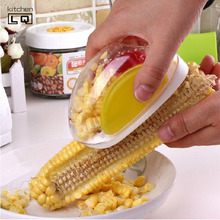 Novelty Gadgets Corn Stripper Cob Remover Corn Threshing Device Utensils Cooking Tools Kitchen Accessories