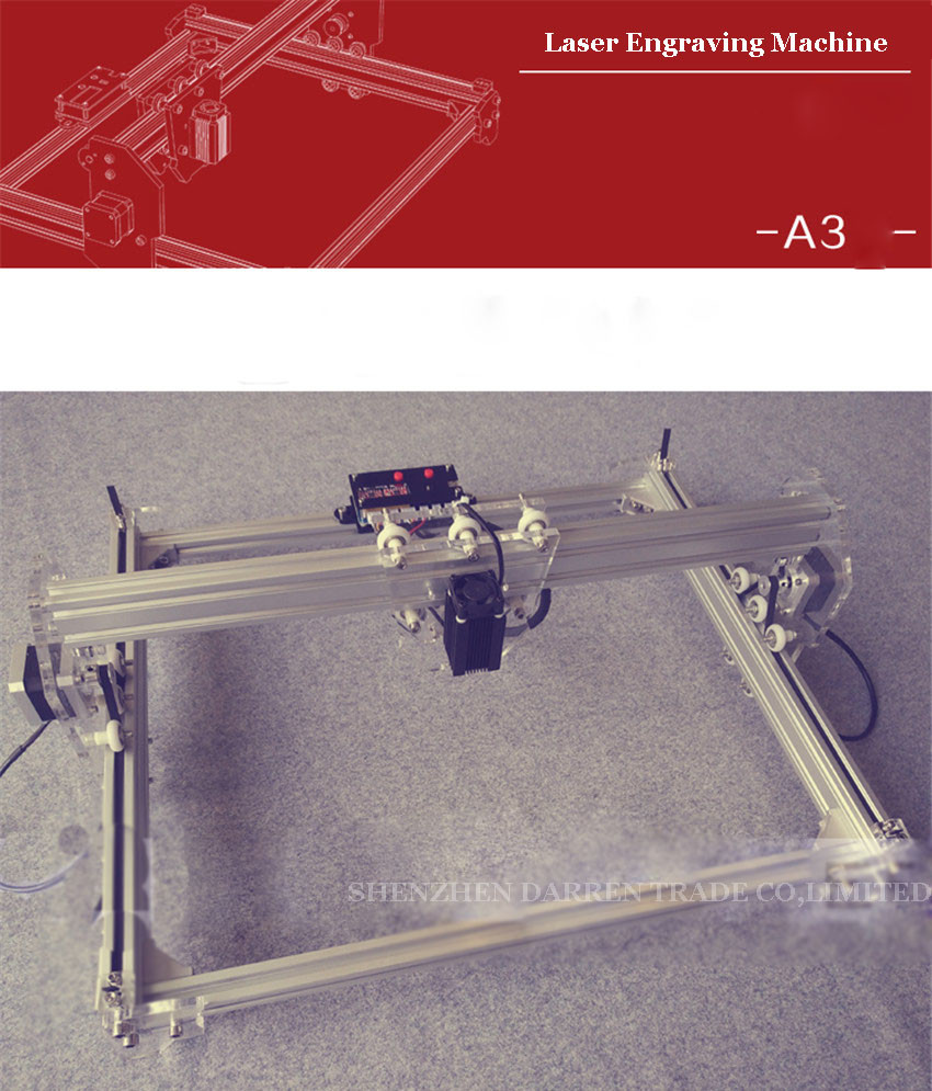 Купить Бесплатные DHL 2 Шт. 1600 МВТ DIY лазерный гравировальный станок, 1.6 Вт лазерной гравировки машина, diy лазерной гравировки машина
