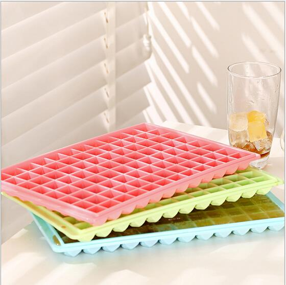 Frozen Super Big Ice Cream Ball Tools Mold Tray Multi Color Cooking Tools Summer 96 Grids Big Diamond PP Ice Cream Cube(China (Mainland))