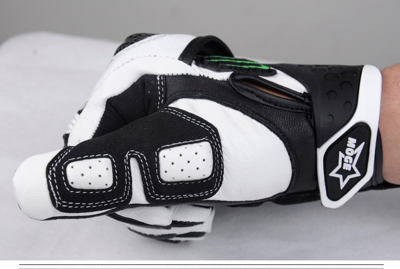 3 Color Available Real Superior Men M,L,XL,XXl Breathable Carbon Fiber Leather Motorcycle Gloves Enduro Luvas De Moto