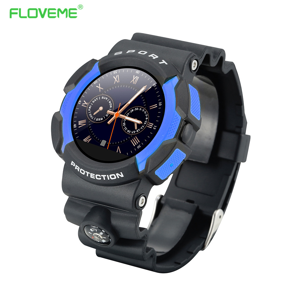 FLOVEME 2016 Smart Watch E2 Waterprof Wearable Devices Smartwatches Support IOS/Android Thermometer Cool Style Sleep Monitoring(China (Mainland))